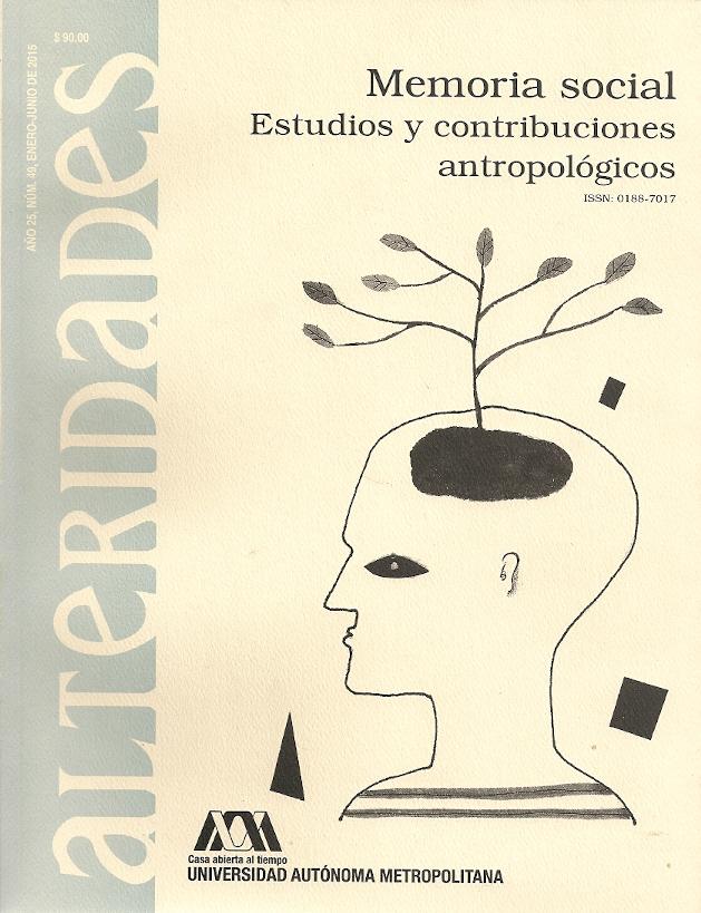 Memoria social. Estudios y contribuciones antropológicos